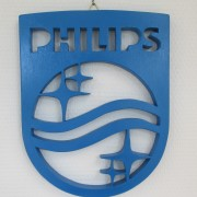 Philips logo hout